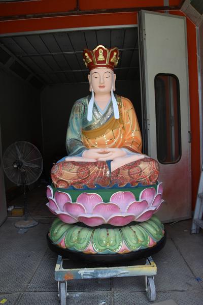 地藏王彩绘