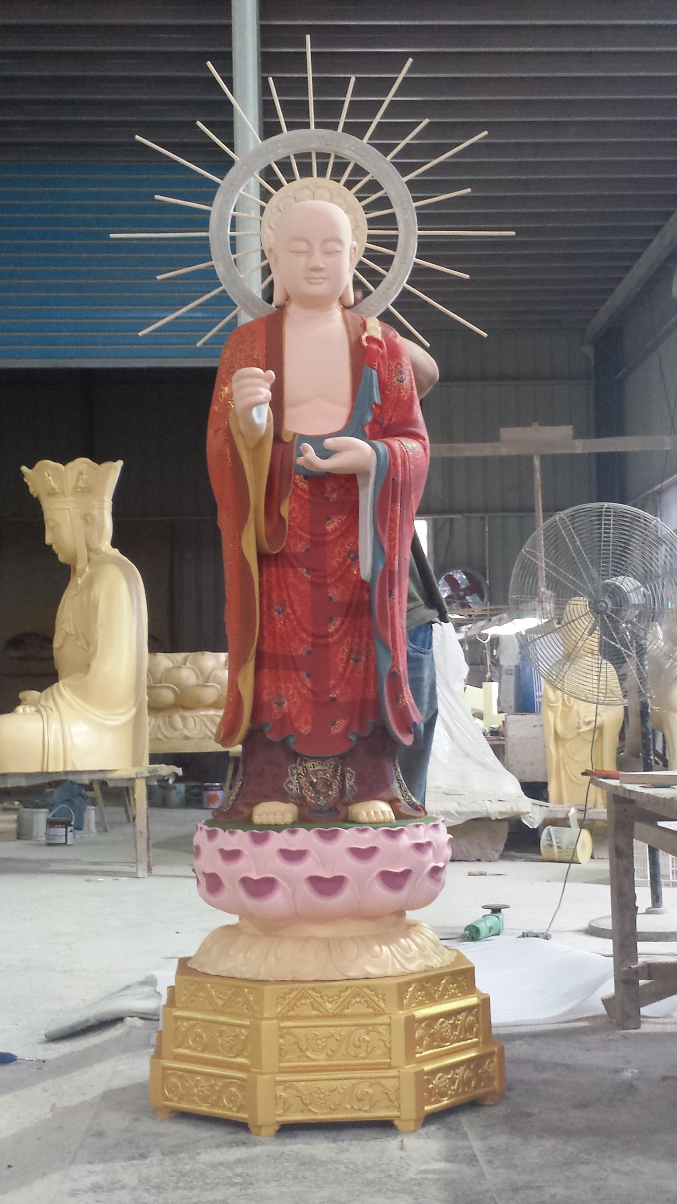 福慧寺 万修师父 地藏王