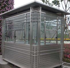 不锈钢岗亭在城市发展中的作用