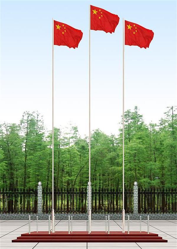 南京迈安进不锈钢旗杆