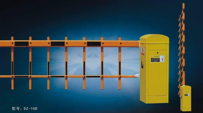 二层栅栏闸机