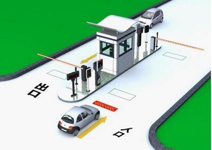 智能停车场--道闸