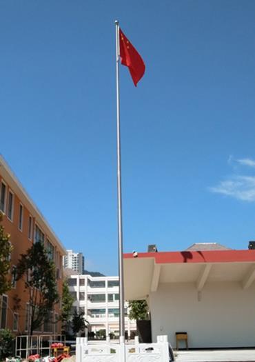 南京迈安进三节旗杆和锥形旗杆