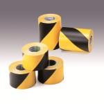 黄色/黑色条纹(简易粘贴)警示胶带 Type III