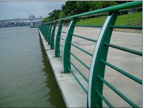 锌合金材料河道护栏
