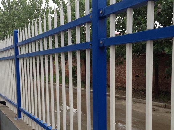 三横梁锌钢护栏