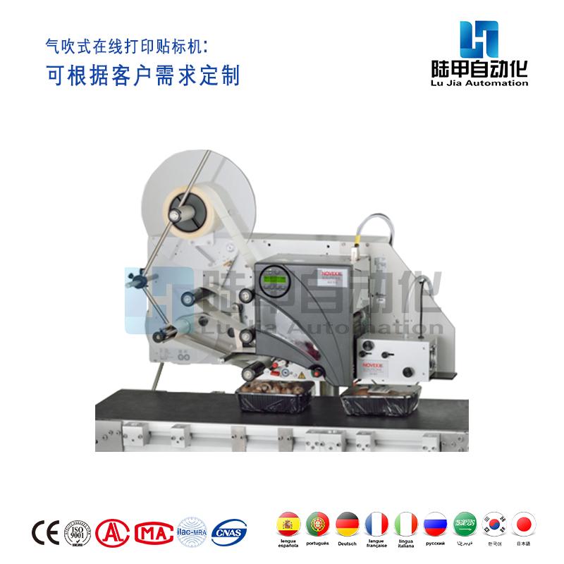 RTPL-Q气吹式在线打印贴标机