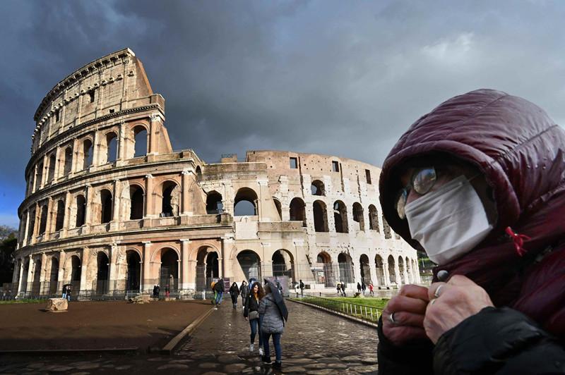 意大利人不习惯戴口罩