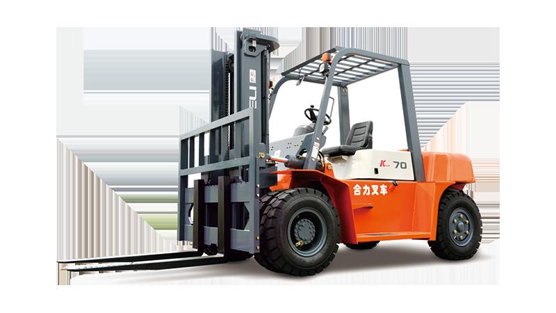 K系列 5-7吨柴油平衡重式叉车
