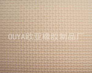 浴垫米白色SBR压纹+T美佳