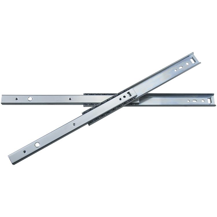 27mm宽轻型钢珠滑轨【2701B250】