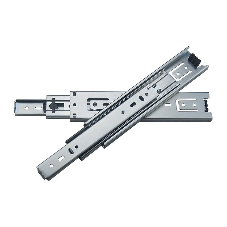 45mm宽中型钢珠滑轨【4501-ZP】