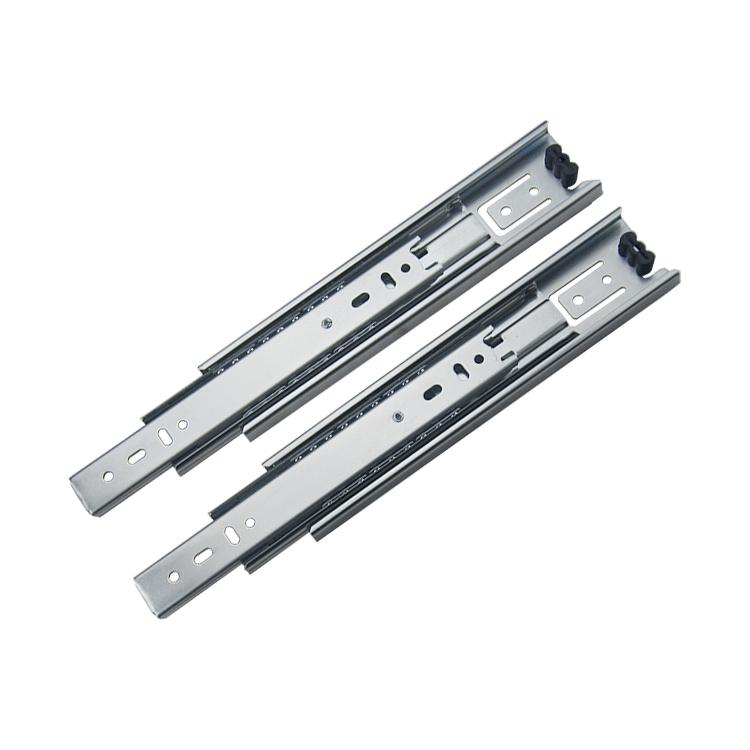 45mm宽家具橱柜钢珠滑轨【4501-ZP】