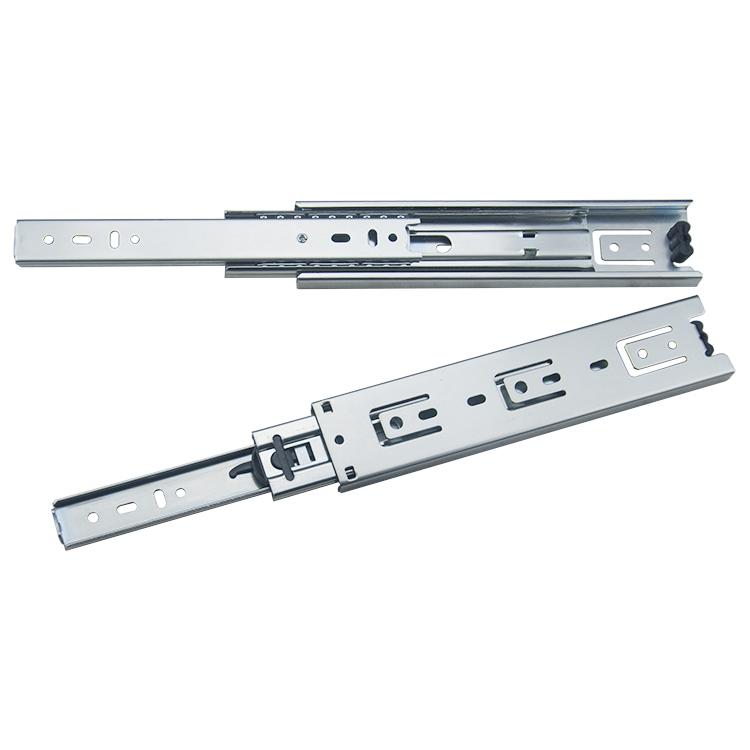 45mm宽全部展开钢珠滑轨【4501-ZP】