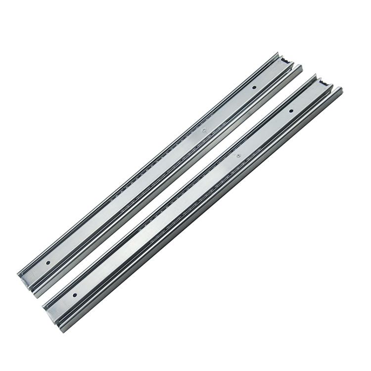 45mm宽定制中型拉出自锁钢珠滑轨【4507】
