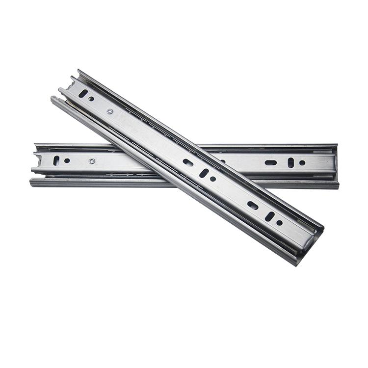 38mm宽中型不锈钢钢珠滑轨【3801-S】