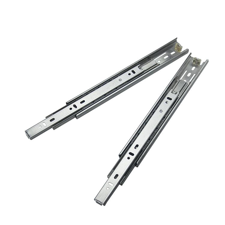 38mm宽厨房家电不锈钢钢珠滑轨【3801-S】