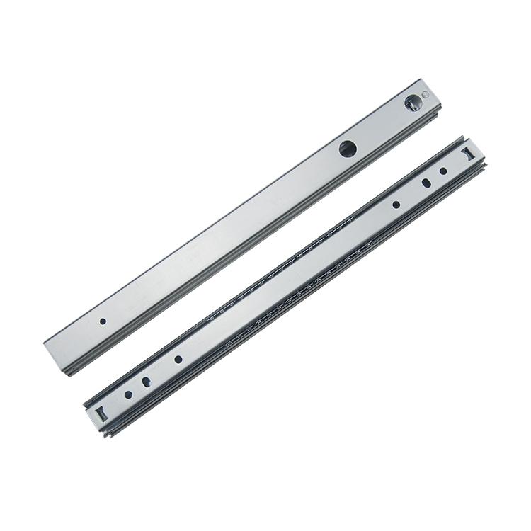 27mm宽定制双层滑动钢珠滑轨【2708A310】
