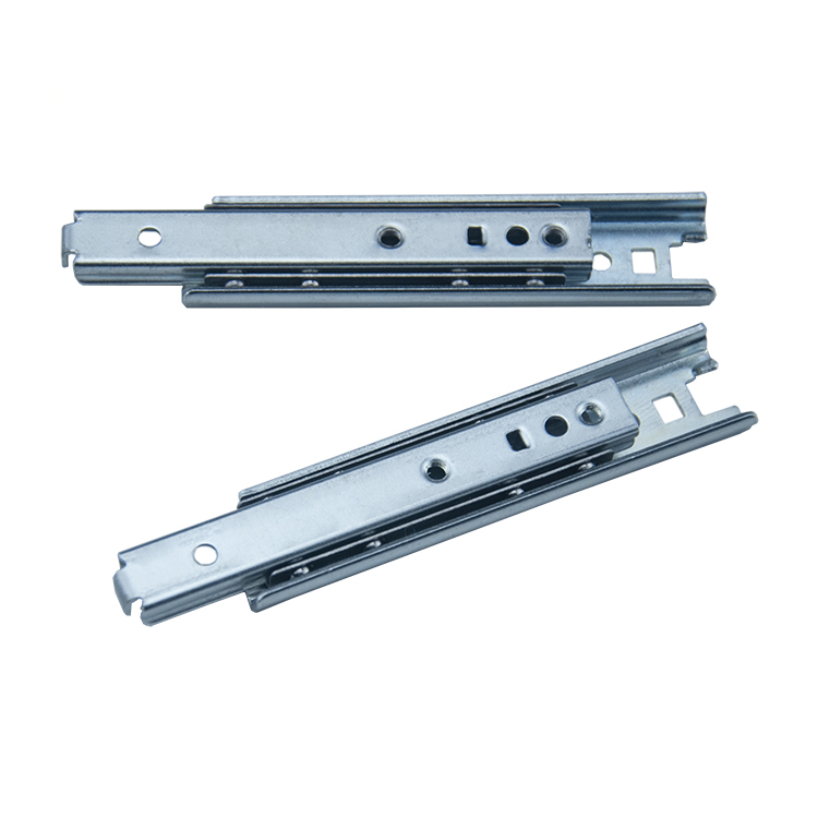 16mm宽定制二节钢珠滑轨【1604A71】