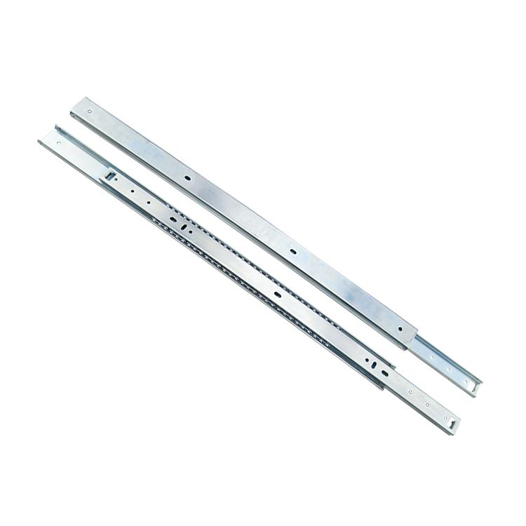 35mm宽定制二节钢珠滑轨【3504A520】