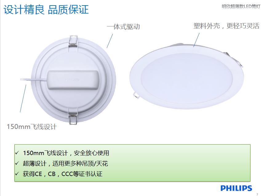 不同的环境对于LED筒灯的功率有什么要求