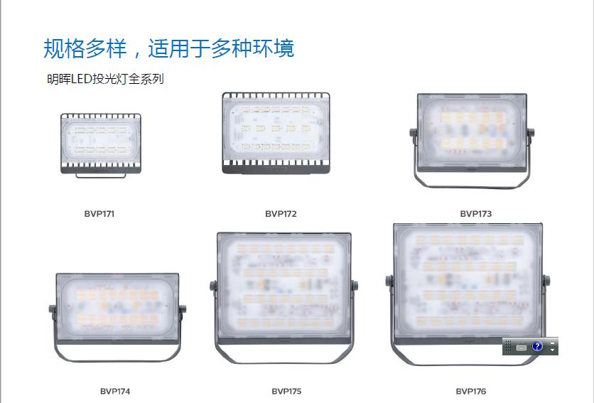 明晖LED投光灯BVP17X