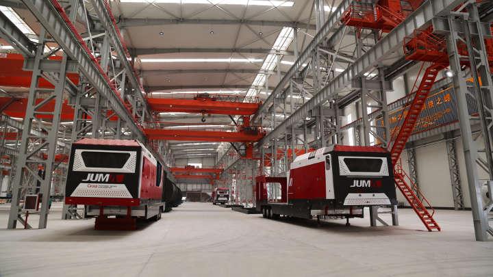 智能互联照明打造山东骏马集团1号超级工厂