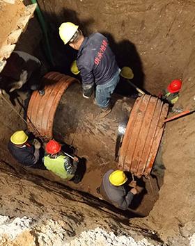 管道漏水維修安裝