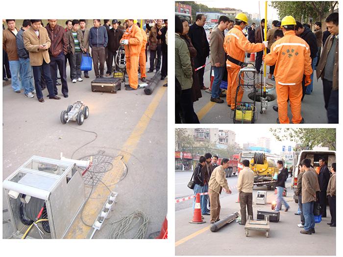 上海地區雨污水管道分流檢測修復、管道非開挖內襯修復