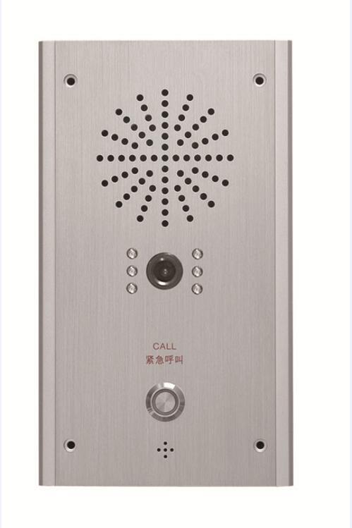 IP网络电梯轿厢可视分机