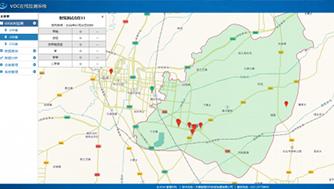 工业园区VOC在线监测管理系统