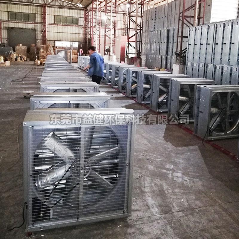 镀锌板负压风机安装