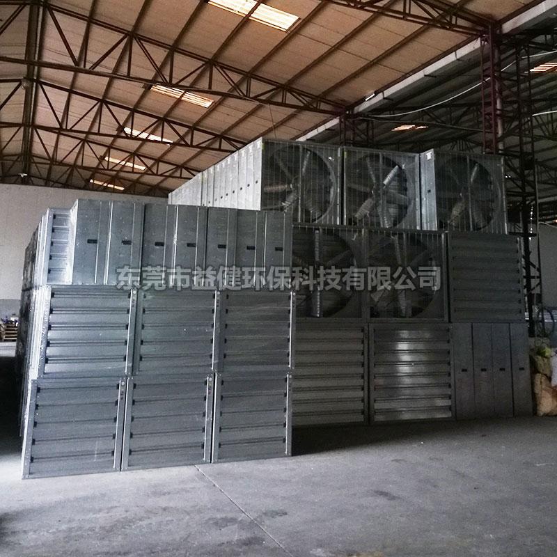 工厂降温镀锌板负压风机