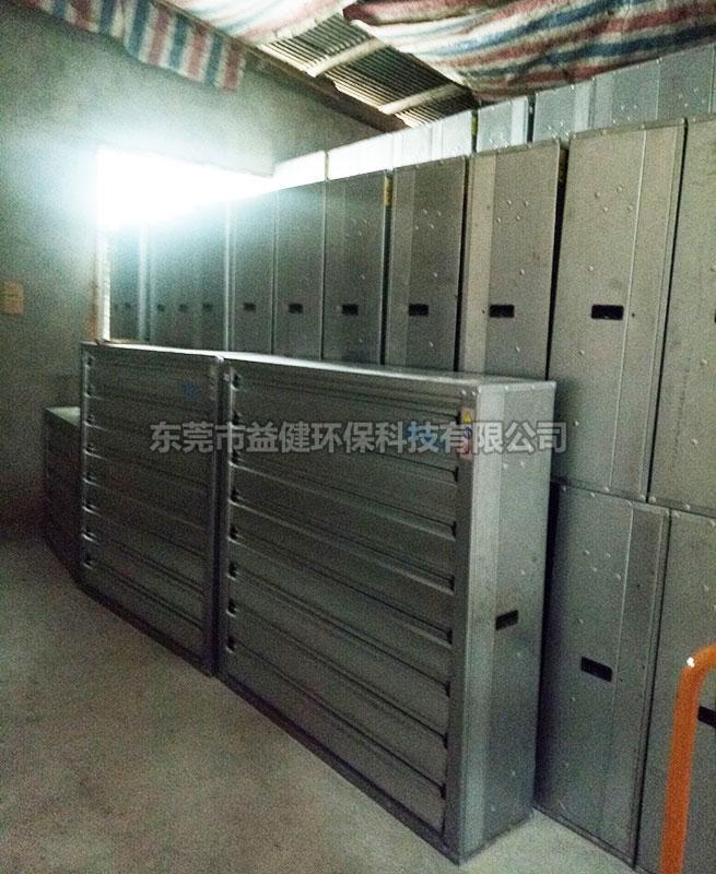 厂房镀锌板负压风机安装
