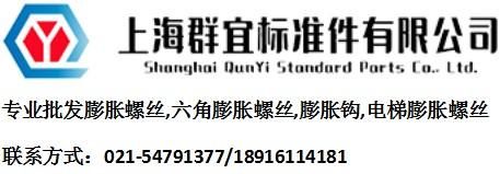 上海群宜精锐膨胀螺丝批发