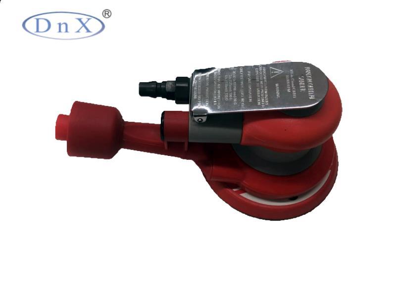 红色气动打磨机