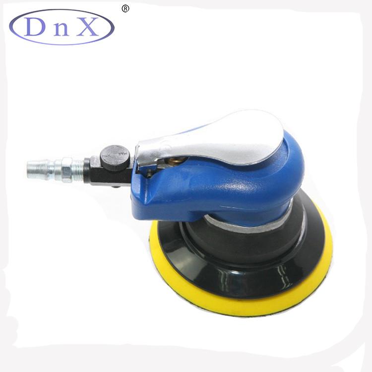蓝色气动打磨机