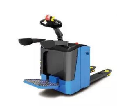 P20JS(機械轉向)—2.0噸站駕式托盤搬運車(可選配電轉向)