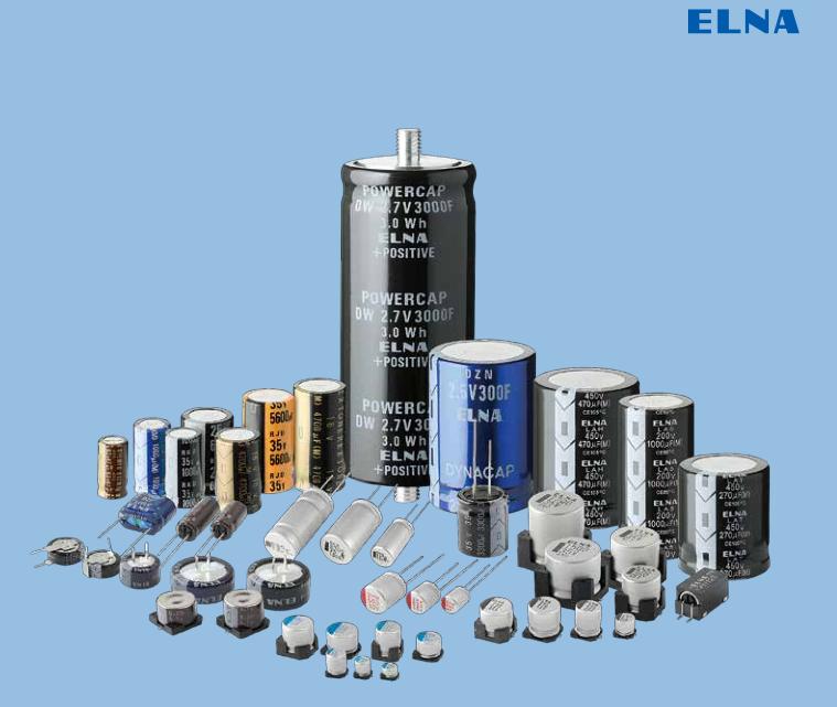 ELNA电容介绍-世纪红电子
