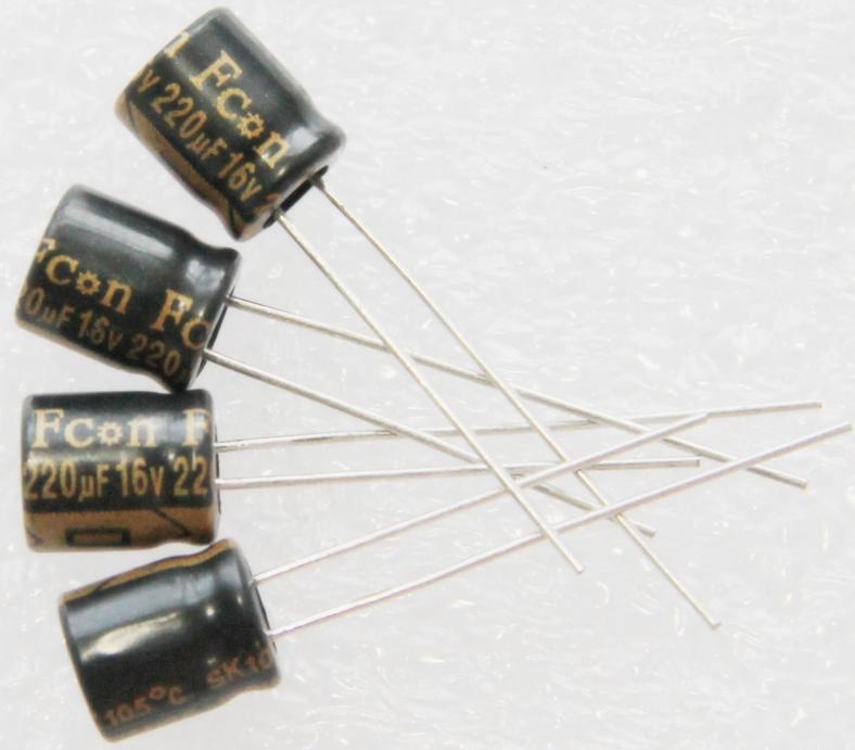 金富康电解电容220UF16V