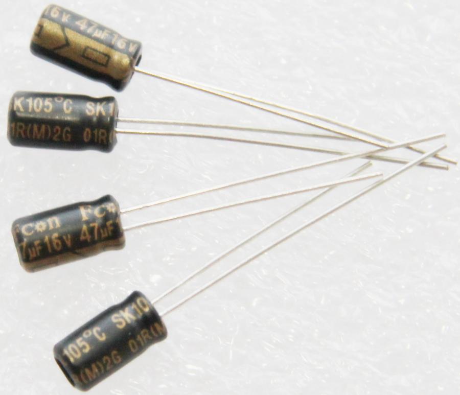 金富康电解电容47UF16V