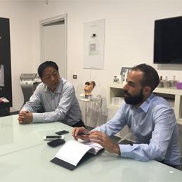 榮軍米蘭promoItalia 醫療美容集團合作交流