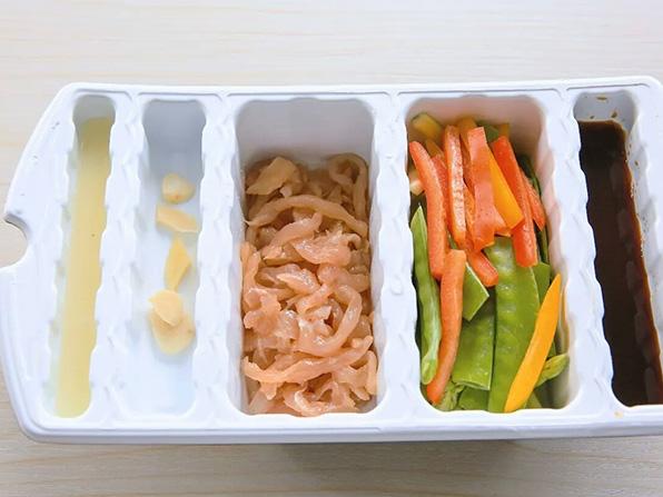 凈菜氣調包裝案例