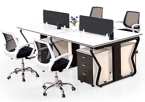 职员办公桌(蝴蝶脚架)