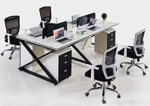 职员办公桌(X脚架)