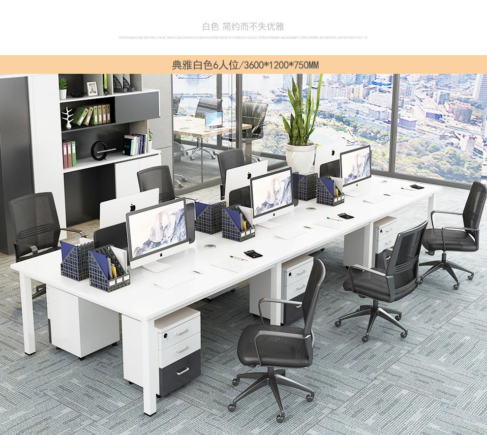 职员办公桌定做根据工作种类来选择
