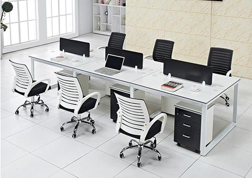 职员办公桌(口型脚架)