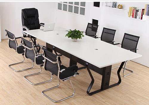 会议办公桌(蝴蝶脚架)
