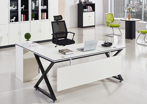 老板经理桌(X型脚架)