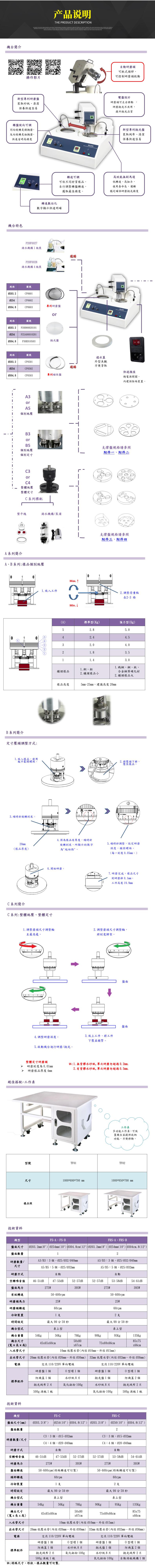 FS/FRS自动研磨抛光机产品说明